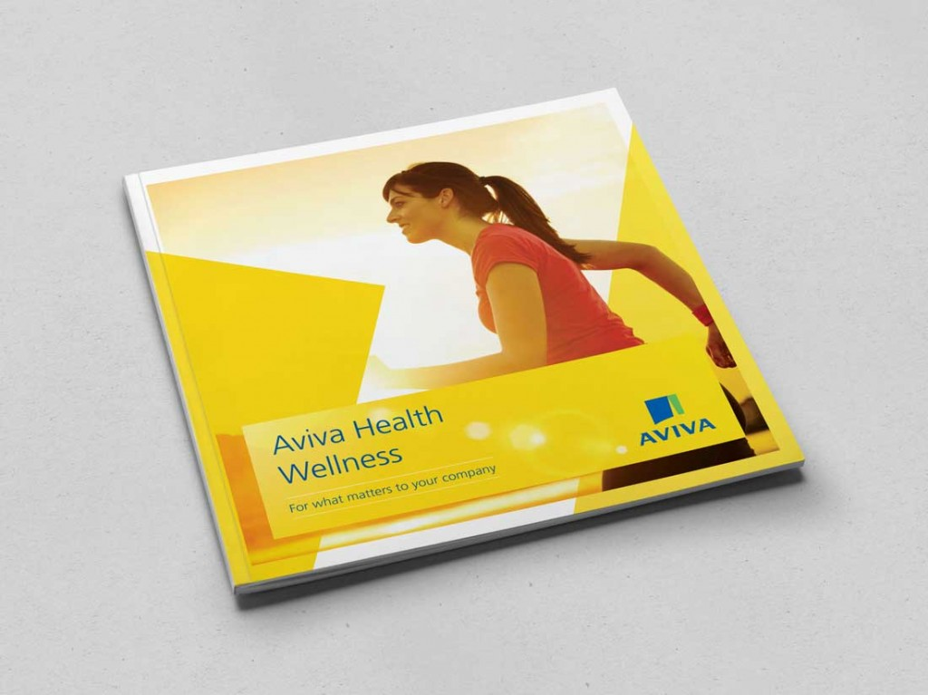 Aviva Wellness brochure cover