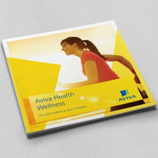 Aviva Wellness brochure cover