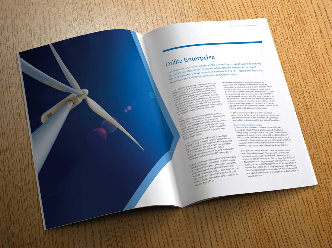 Coillte Annual Report 2013 spread