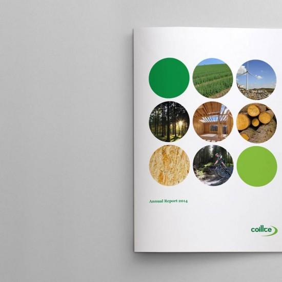 Coillte Annual Report 2014 Cover