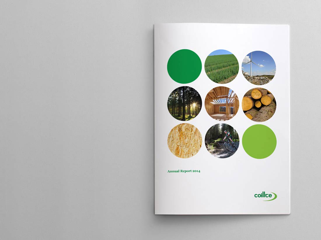 Coillte Annual Report 2014 Cover