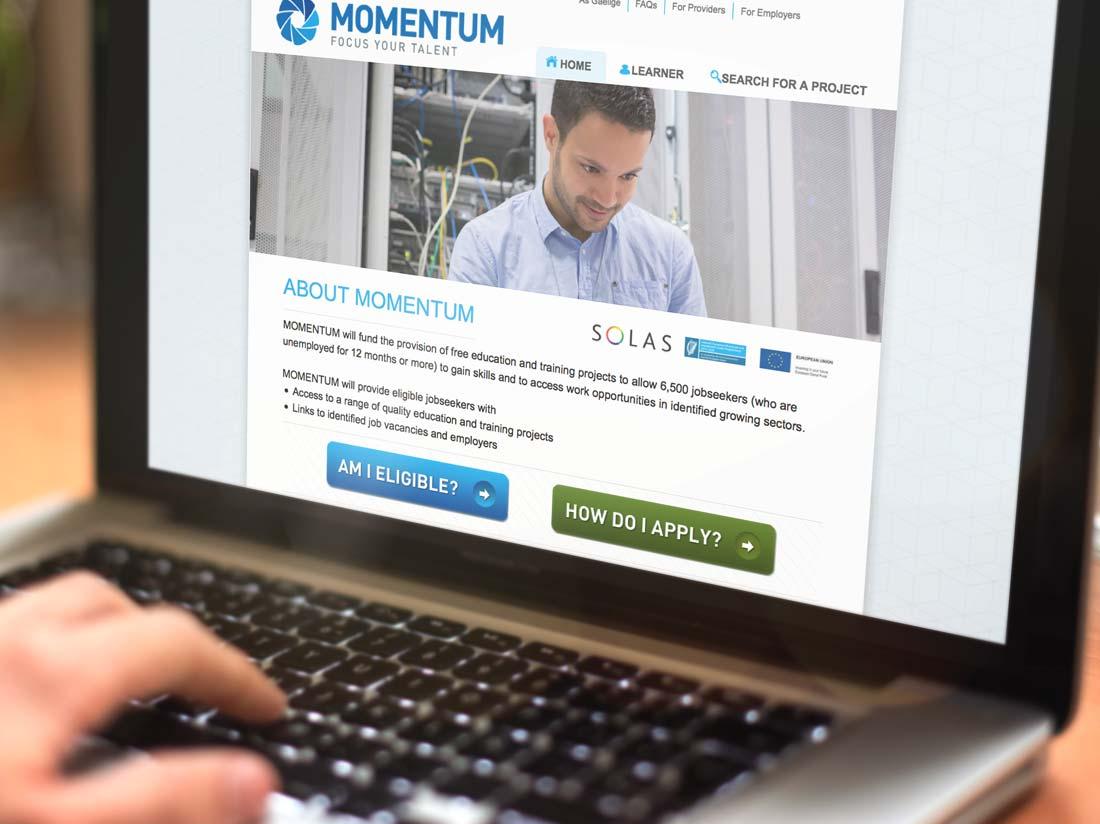 Momentum website
